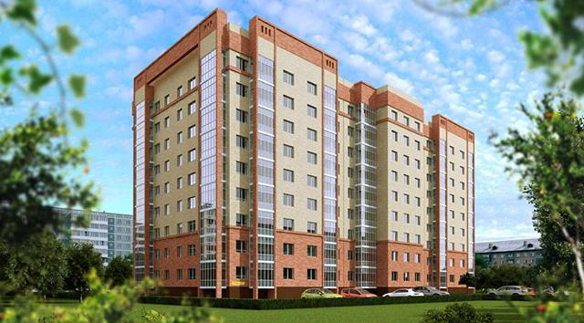 Строящееся жилье