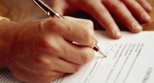 Подписание акта передачи квартиры