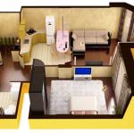 Двухкомнатные квартиры в новостройке в Ростове-на-Дону