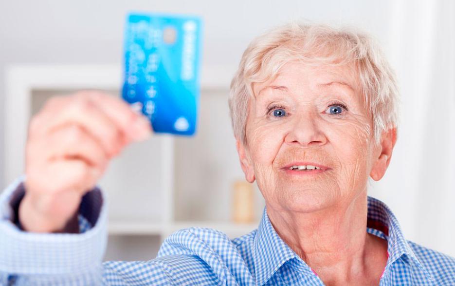 Получение кредитной карты пенсионерам